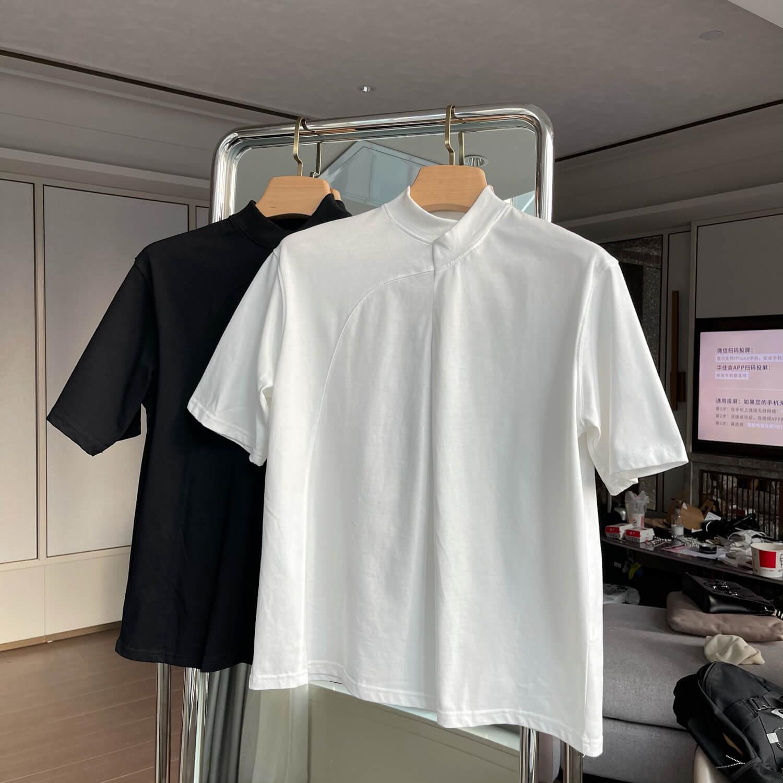 Футболка Cui Layout Studio Minimalist T-shirt Padded Rounded Collar (1)