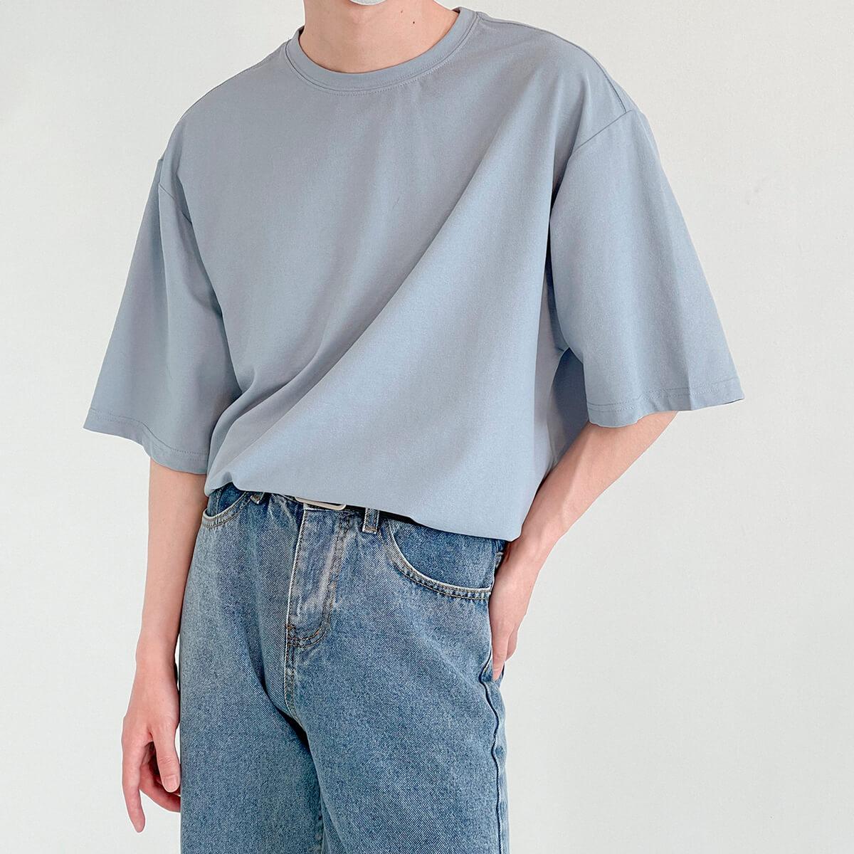 Футболка DAZO Studio Basic T-shirt Combed Cotton (1)