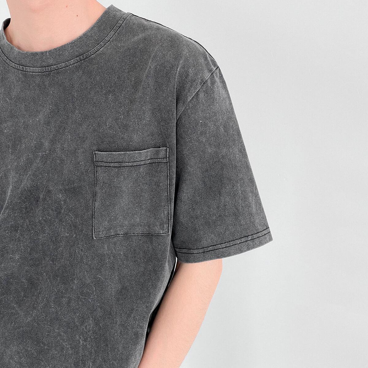 Футболка DAZO Studio Washed Gray T-shirt (3)