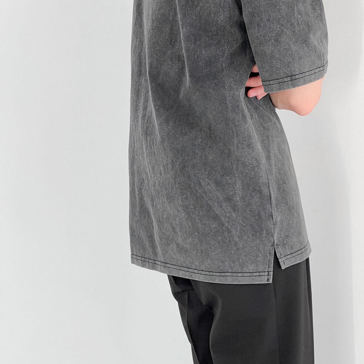 Футболка DAZO Studio Washed Gray T-shirt (4)