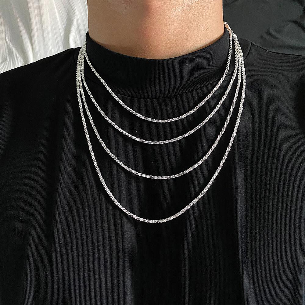 Цепочка SAZ Studio Fine Chain Rope Weave (1)