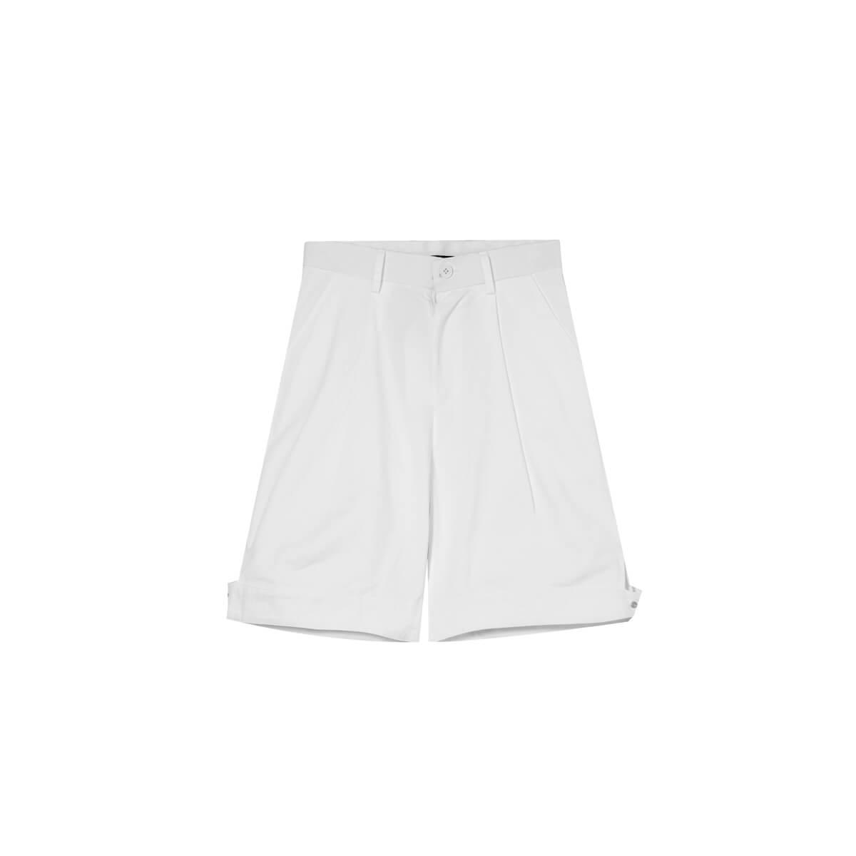 Шорты Cui Layout Studio Wide Leg Shorts White