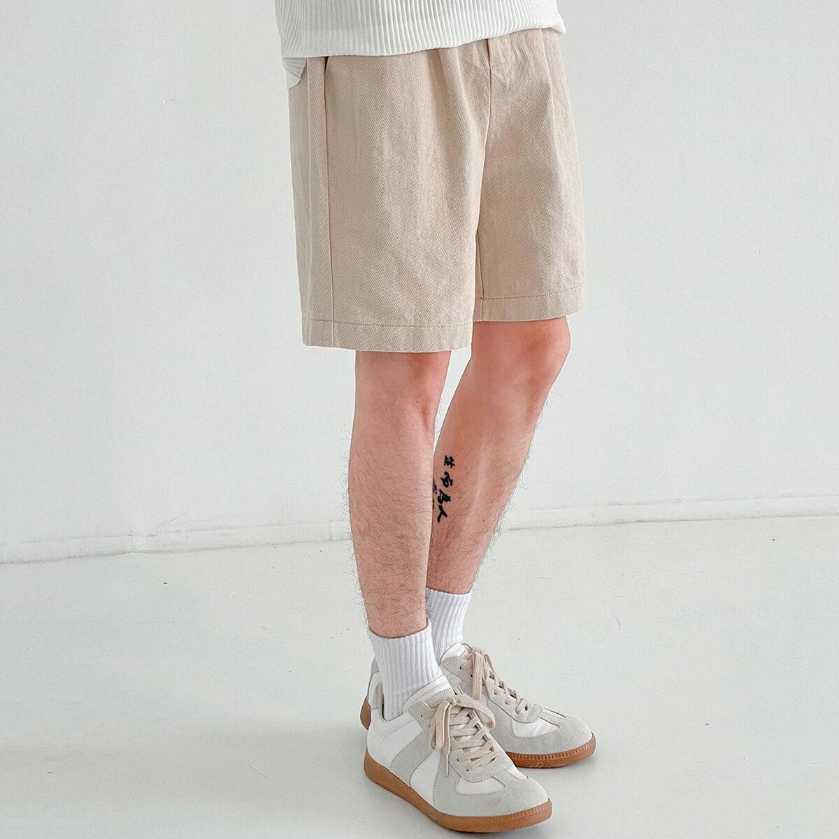 Шорты DAZO Studio Cotton Shorts Highlighted Texture (1)
