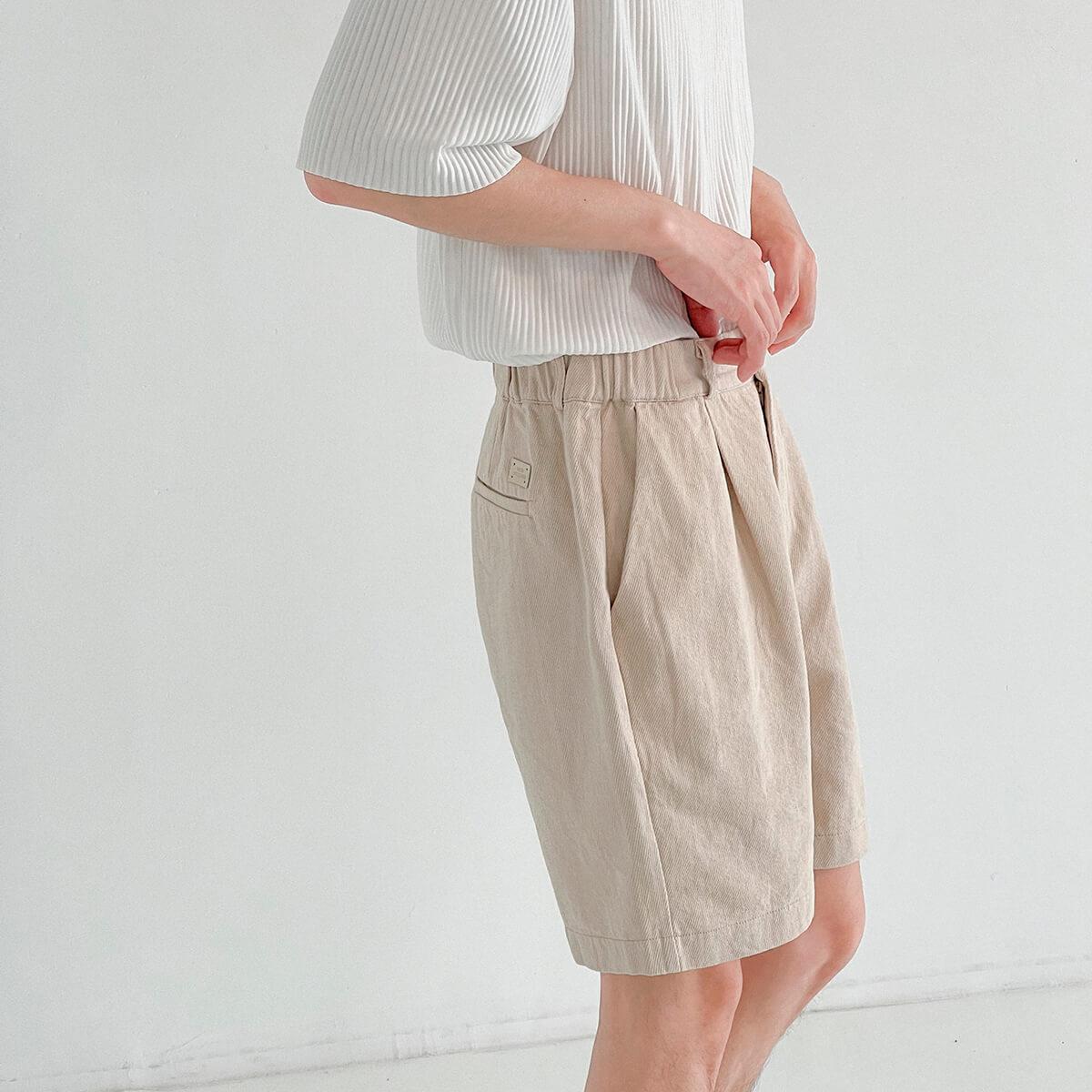 Шорты DAZO Studio Cotton Shorts Highlighted Texture (2)
