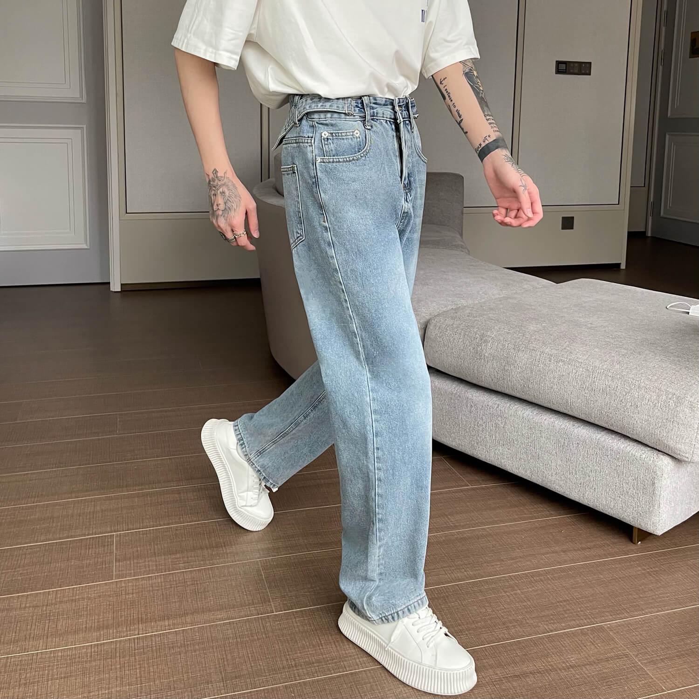 Джинсы Cui Layout Studio Basic Jeans Stretch Waist Straps (1)