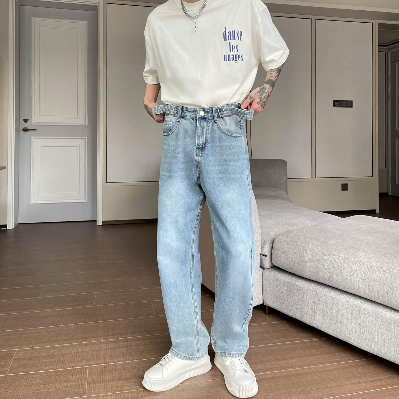 Джинсы Cui Layout Studio Basic Jeans Stretch Waist Straps (2)