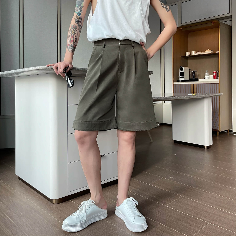 Шорты Cui Layout Studio Wide Leg Shorts (4)