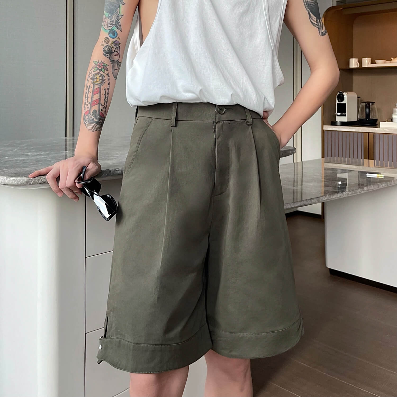 Шорты Cui Layout Studio Wide Leg Shorts (5)