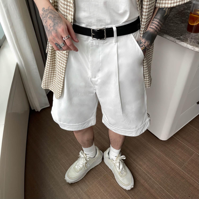 Шорты Cui Layout Studio Wide Leg Shorts (6)