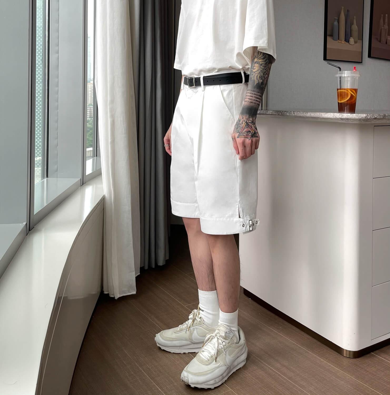 Шорты Cui Layout Studio Wide Leg Shorts (7)