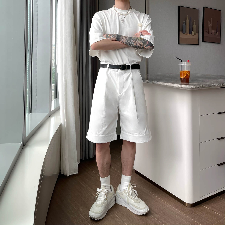 Шорты Cui Layout Studio Wide Leg Shorts (8)