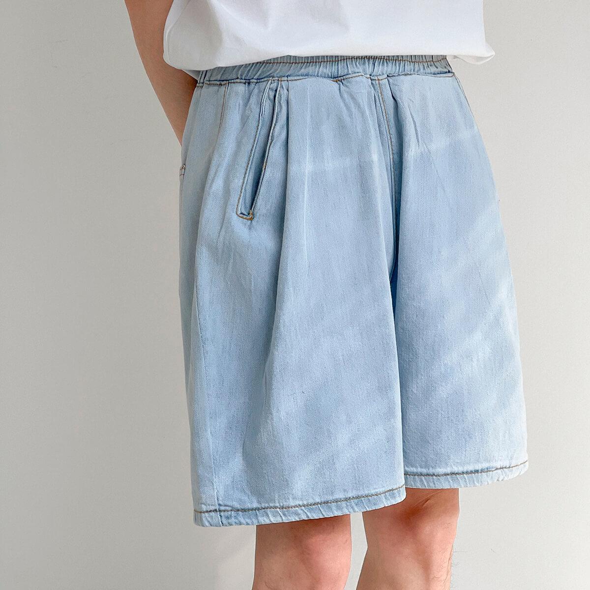 Шорты DAZO Studio Thin Elastic Denim Shorts (2)