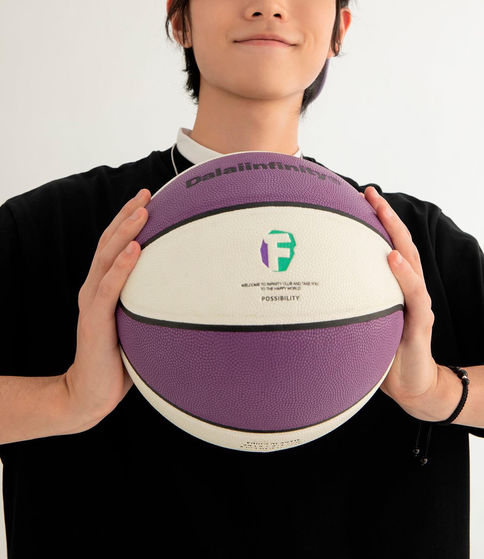 Баскетбольный мяч DL Studio Signature Basketball (3)