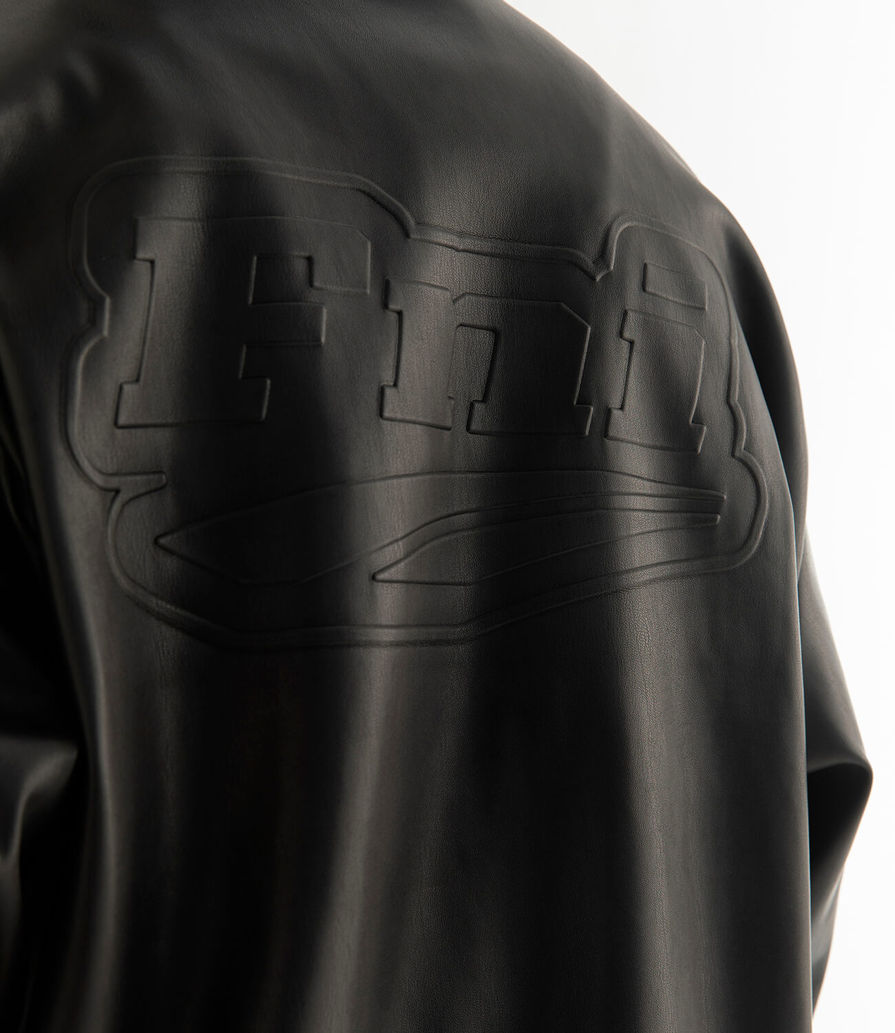 Бомбер DL Studio Faux Leather Bomber (3)