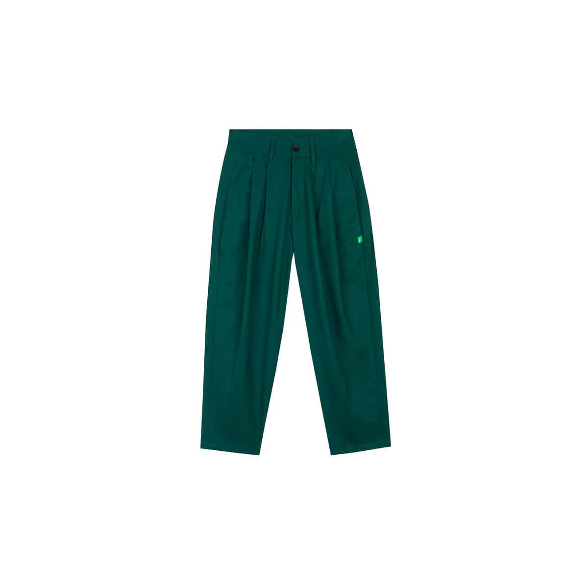 Брюки DL Studio Casual Fabric Pants Green