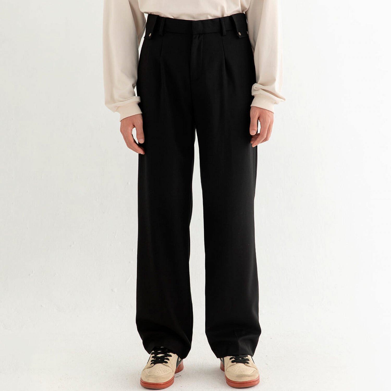 Брюки DL Studio Textured Draped Pants (1)