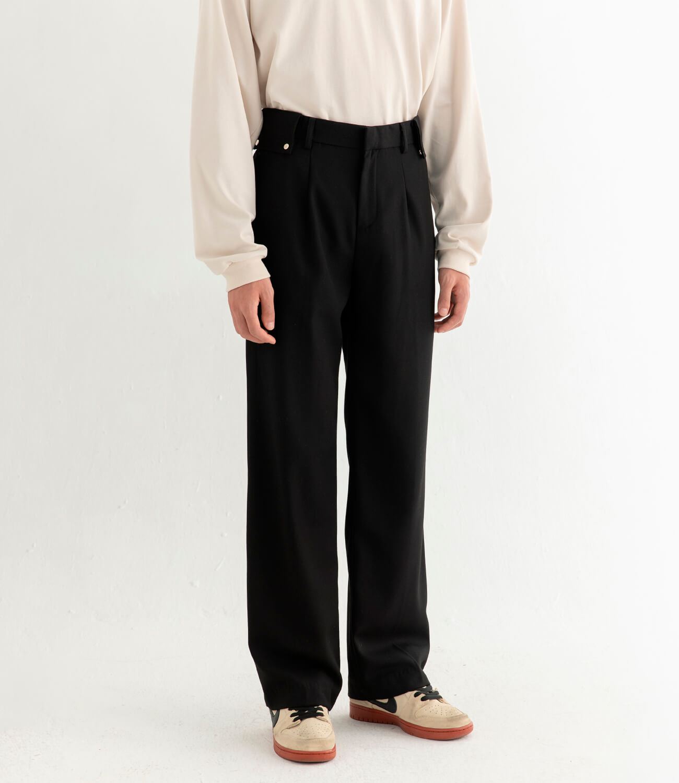Брюки DL Studio Textured Draped Pants (2)