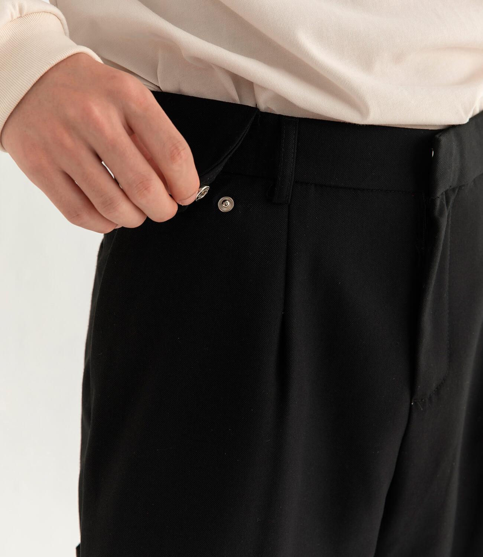 Брюки DL Studio Textured Draped Pants (5)