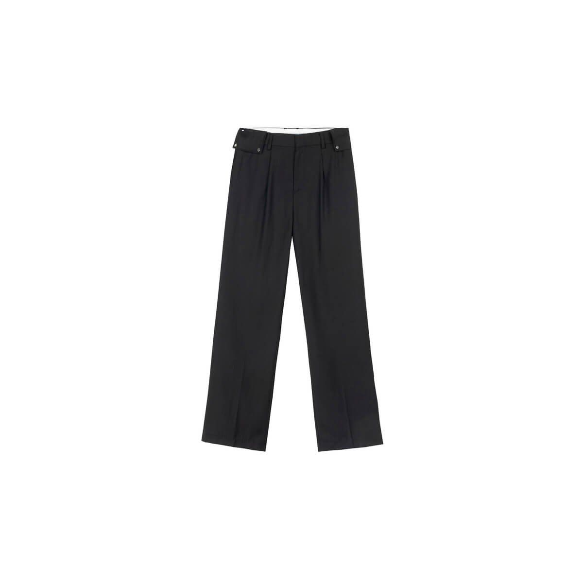 Брюки DL Studio Textured Draped Pants Black