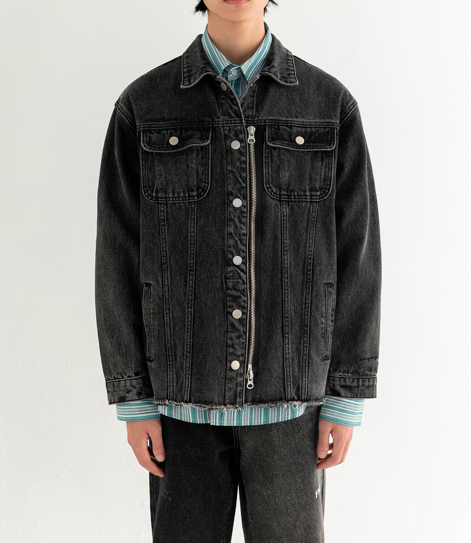 Джинсовая куртка DL Studio Denim Zipper Jacket (1)