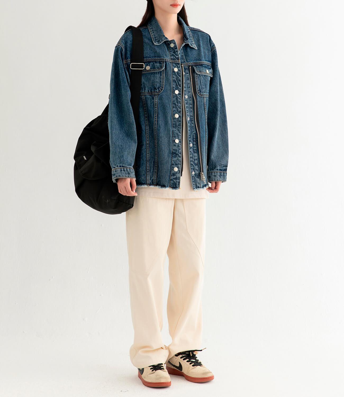 Джинсовая куртка DL Studio Denim Zipper Jacket (10)