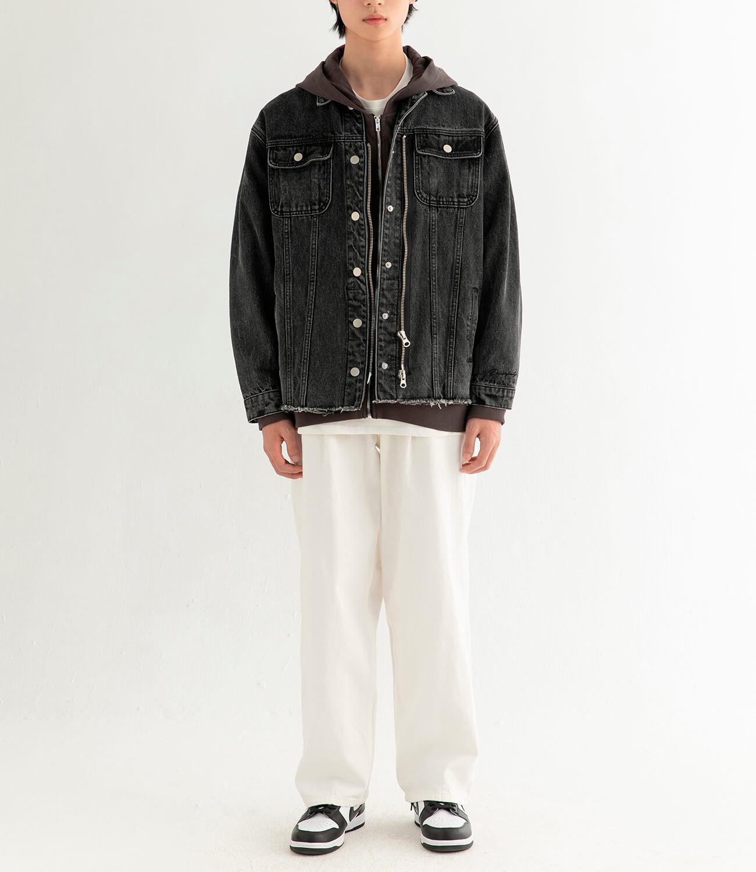 Джинсовая куртка DL Studio Denim Zipper Jacket (3)