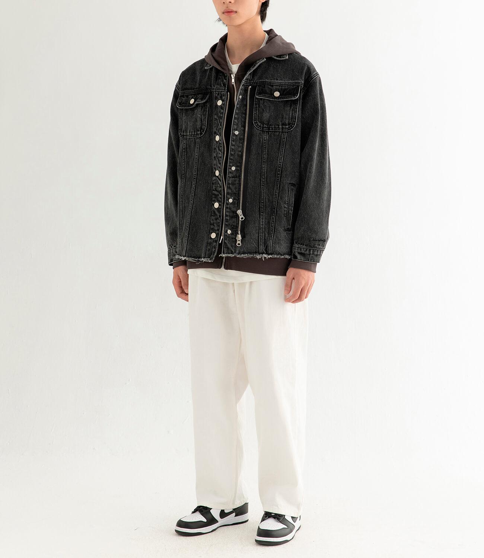 Джинсовая куртка DL Studio Denim Zipper Jacket (4)