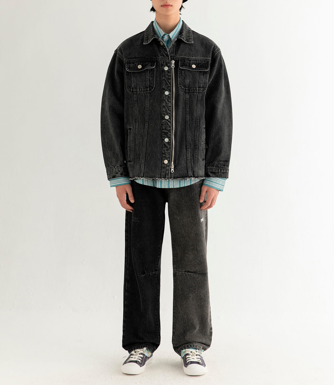 Джинсовая куртка DL Studio Denim Zipper Jacket (5)