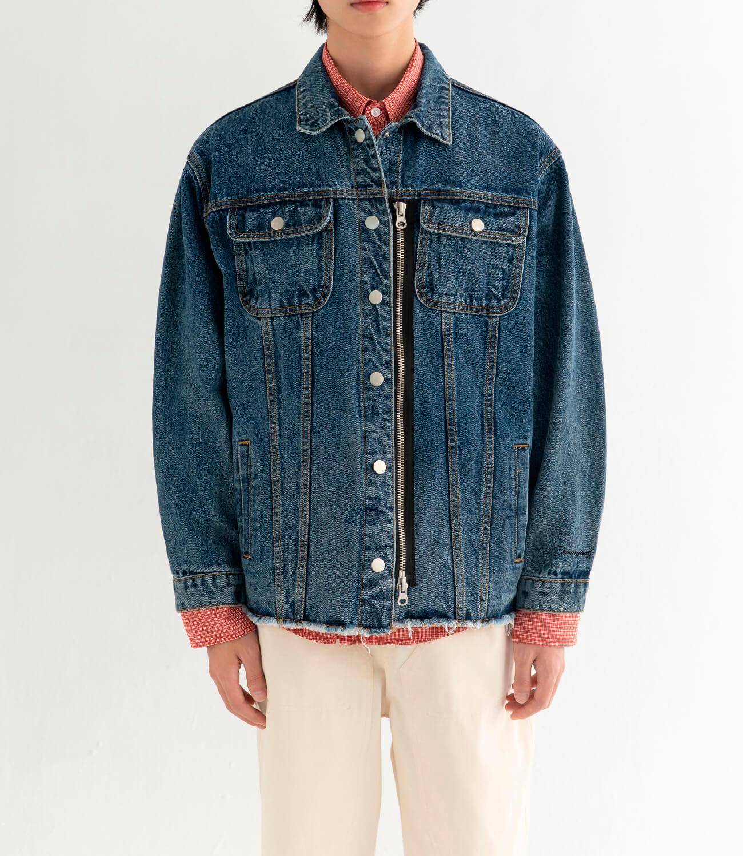 Джинсовая куртка DL Studio Denim Zipper Jacket (6)