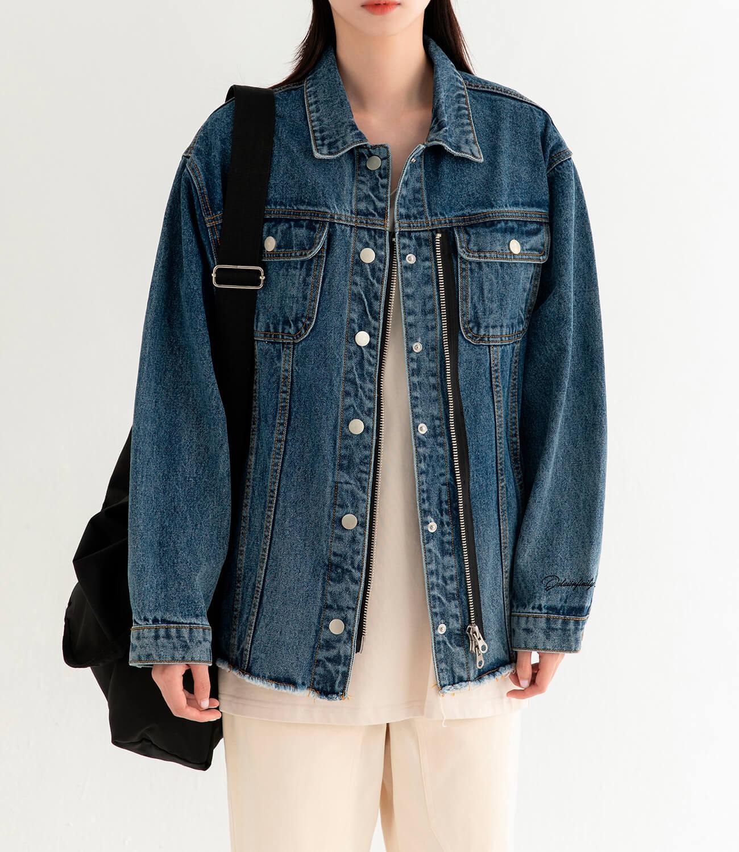 Джинсовая куртка DL Studio Denim Zipper Jacket (8)