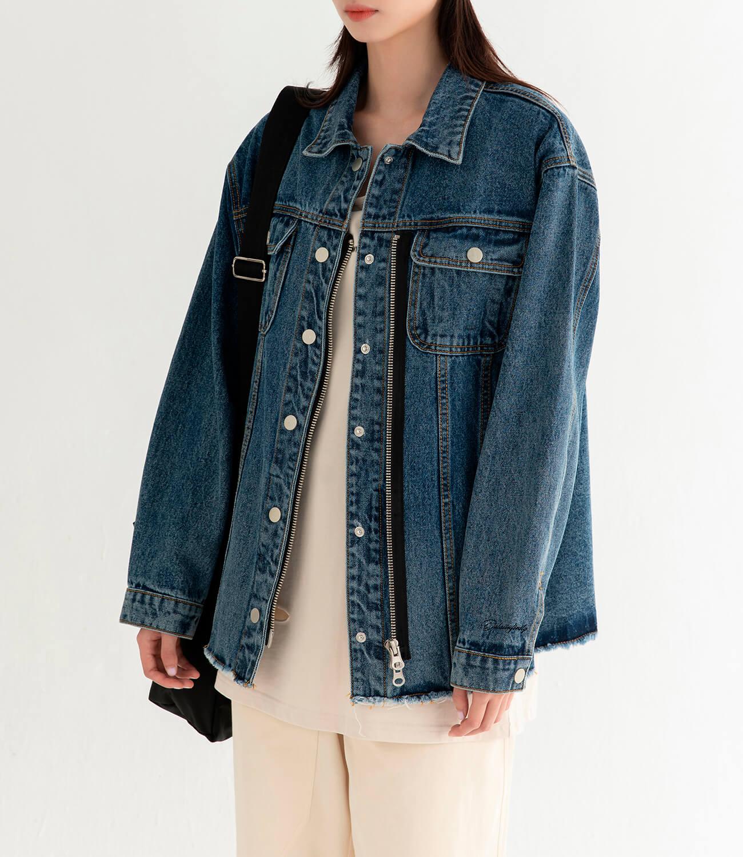 Джинсовая куртка DL Studio Denim Zipper Jacket (9)