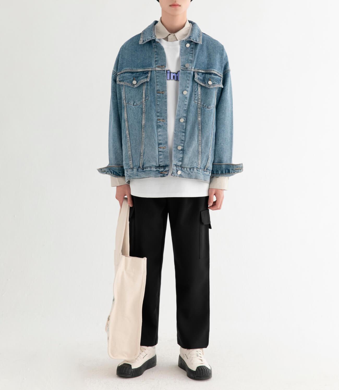 Джинсовая куртка DL Studio Rough Denim Jacket (10)