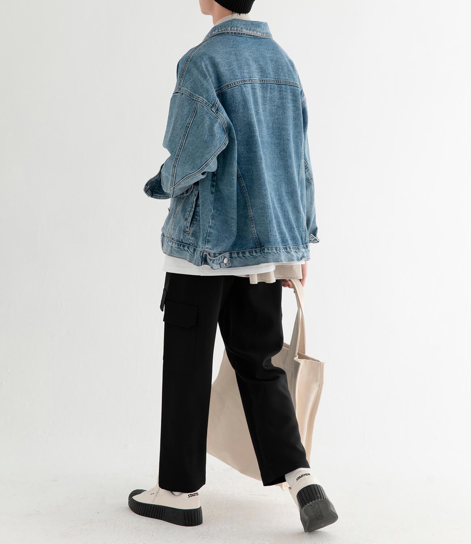 Джинсовая куртка DL Studio Rough Denim Jacket (11)