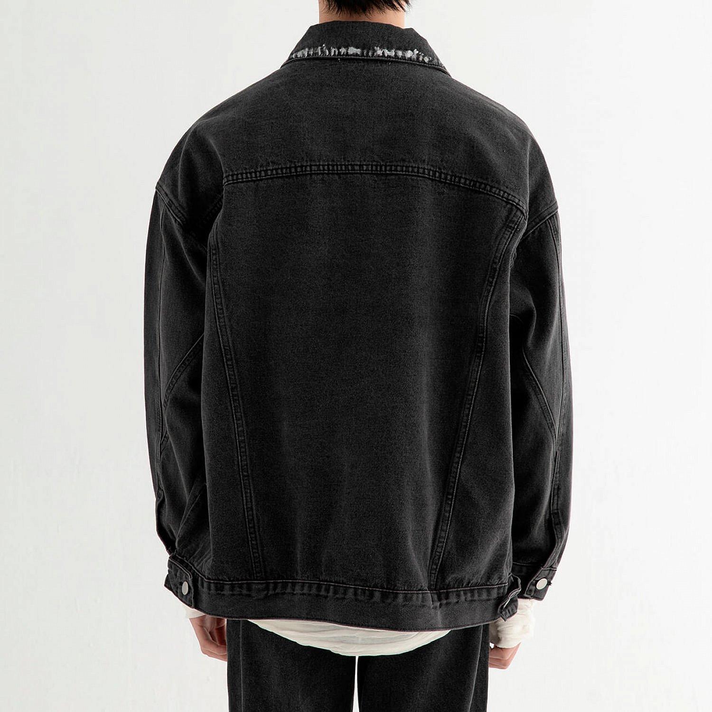 Джинсовая куртка DL Studio Rough Denim Jacket (2)