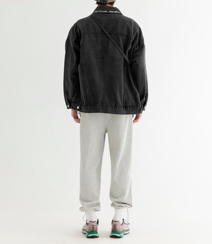 Джинсовая куртка DL Studio Rough Denim Jacket (6)