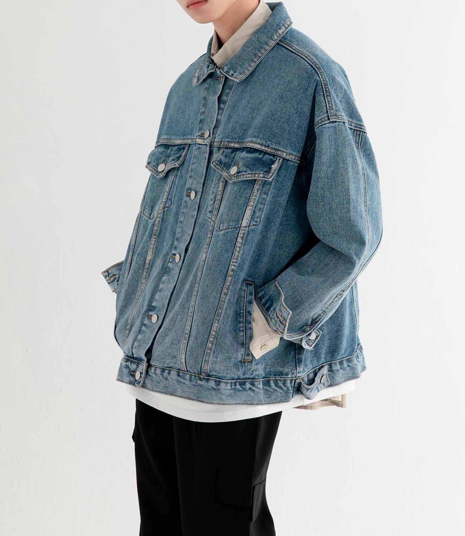 Джинсовая куртка DL Studio Rough Denim Jacket (7)