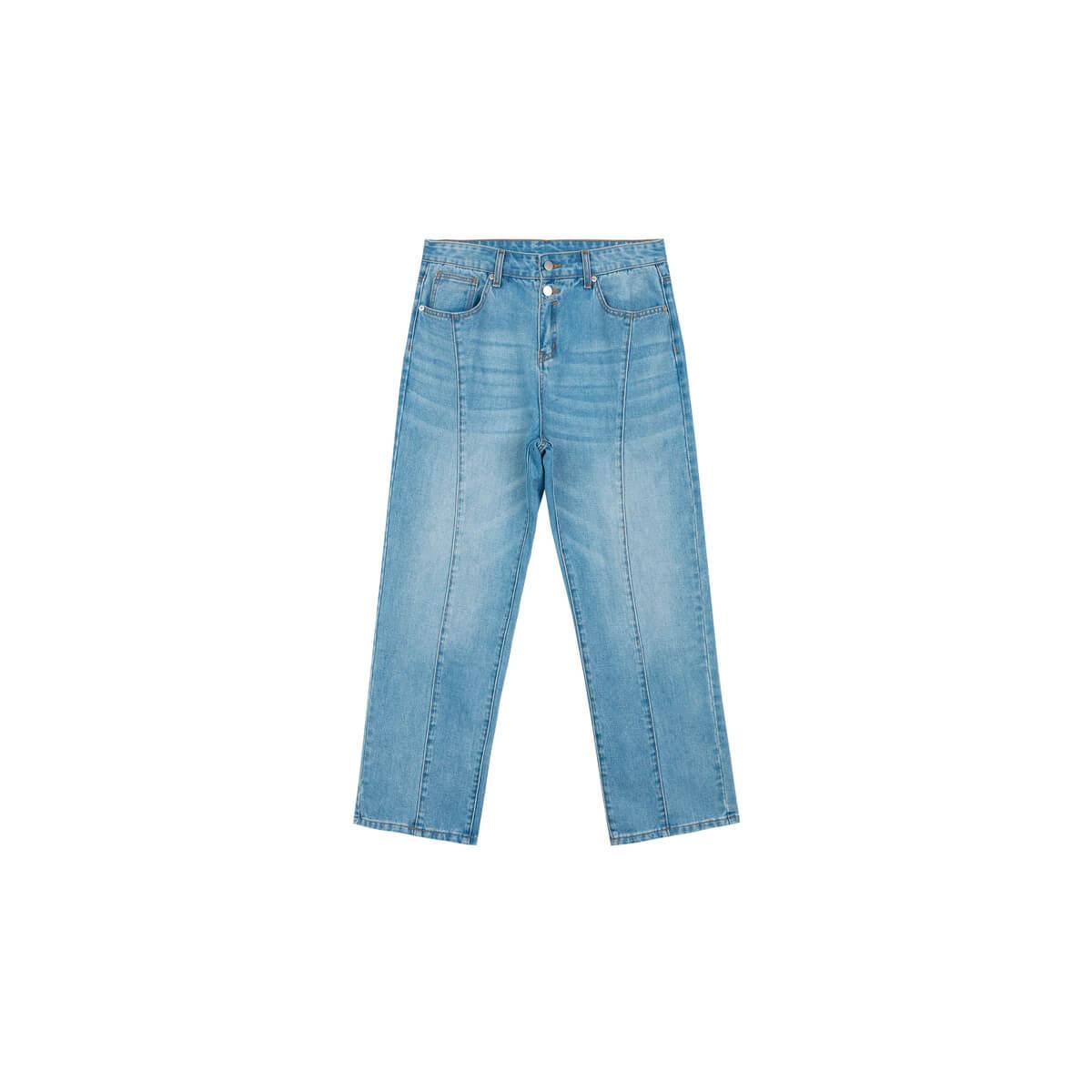 Джинсы DL Studio Jeans Outside Seam Blue