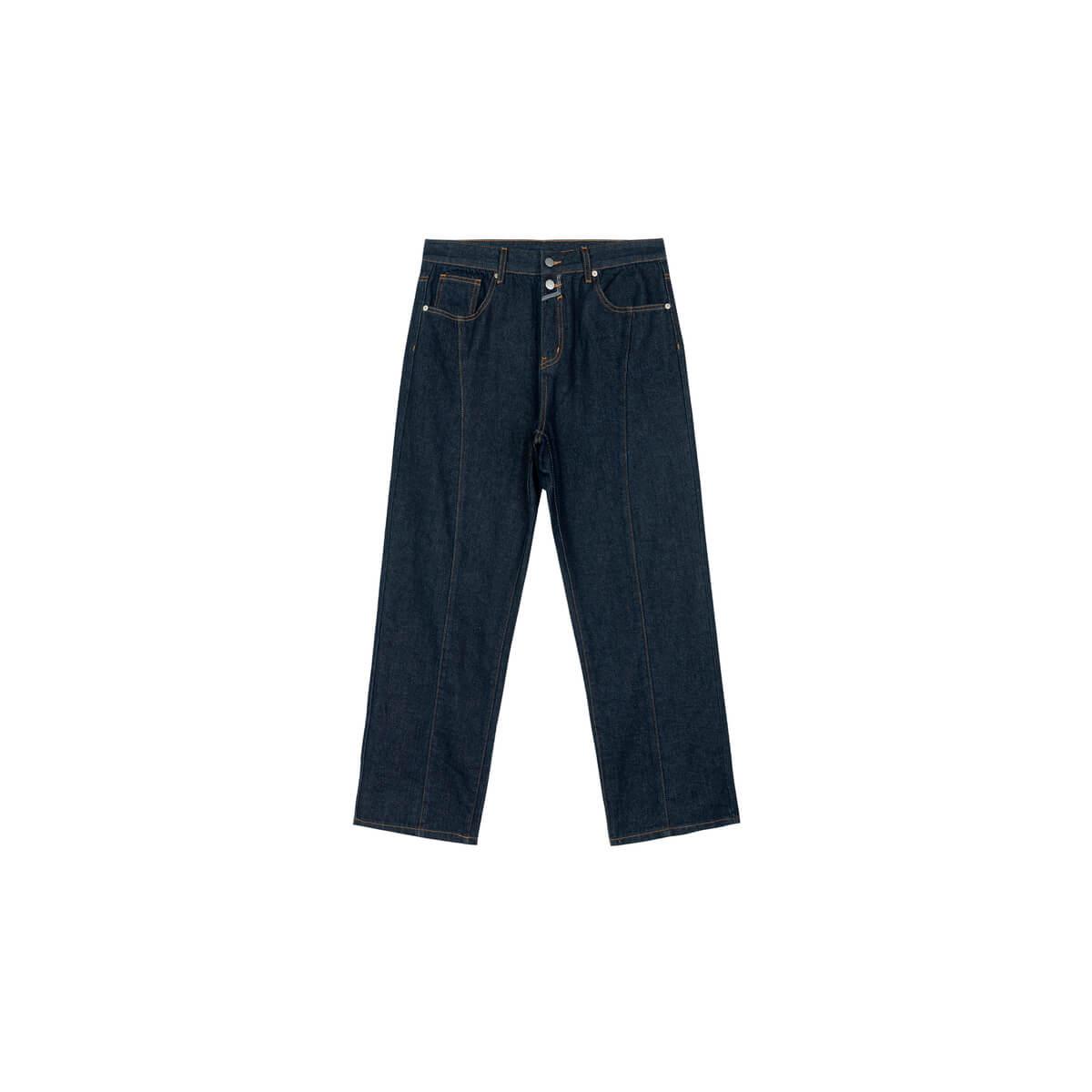 Джинсы DL Studio Jeans Outside Seam Dark Blue