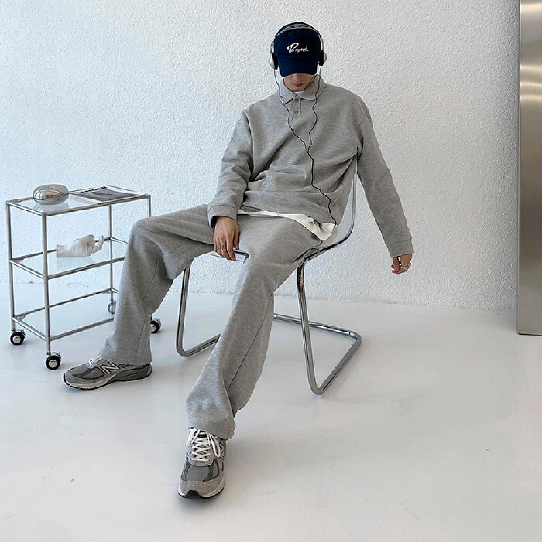 Костюм Attitude Studio Comfortable Tracksuit Polo & Pants (1)