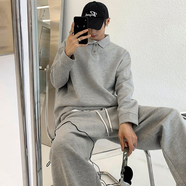 Костюм Attitude Studio Comfortable Tracksuit Polo & Pants (2)