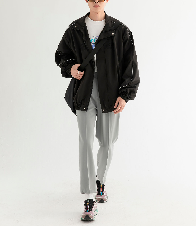 Куртка DL Studio Loose High Collar Windbreaker (11)
