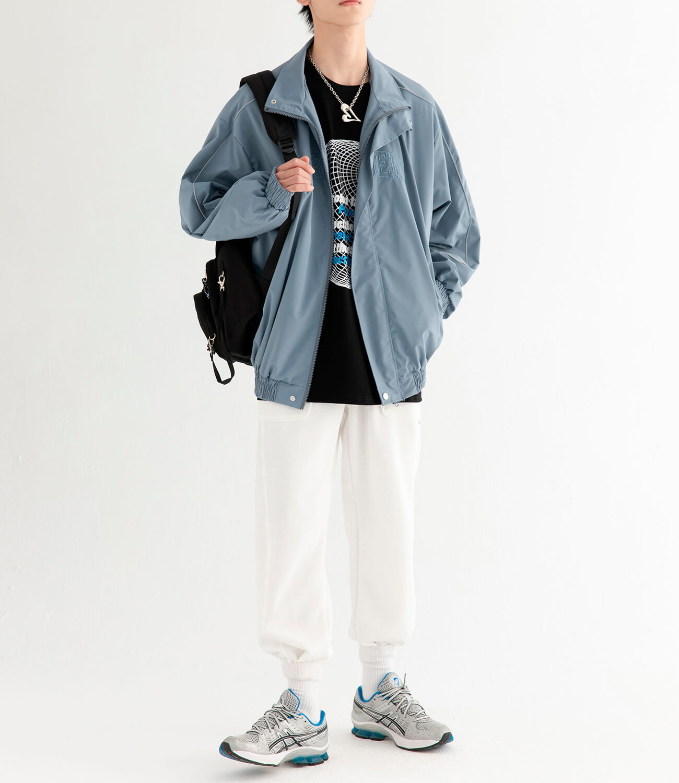 Куртка DL Studio Loose High Collar Windbreaker (5)