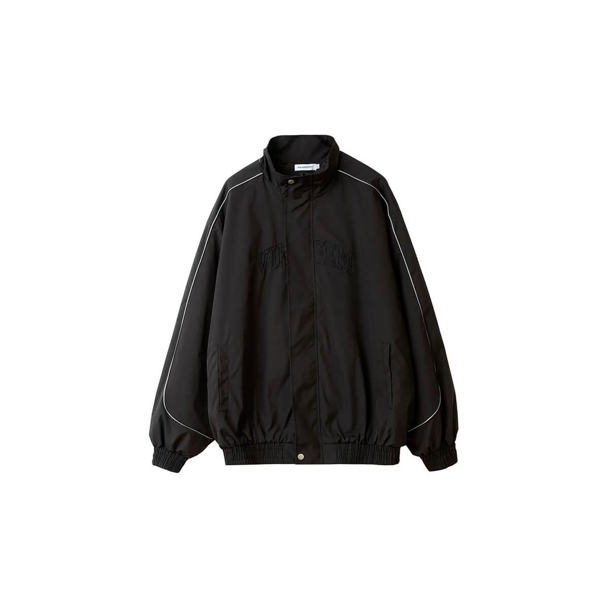Куртка DL Studio Loose High Collar Windbreaker Black