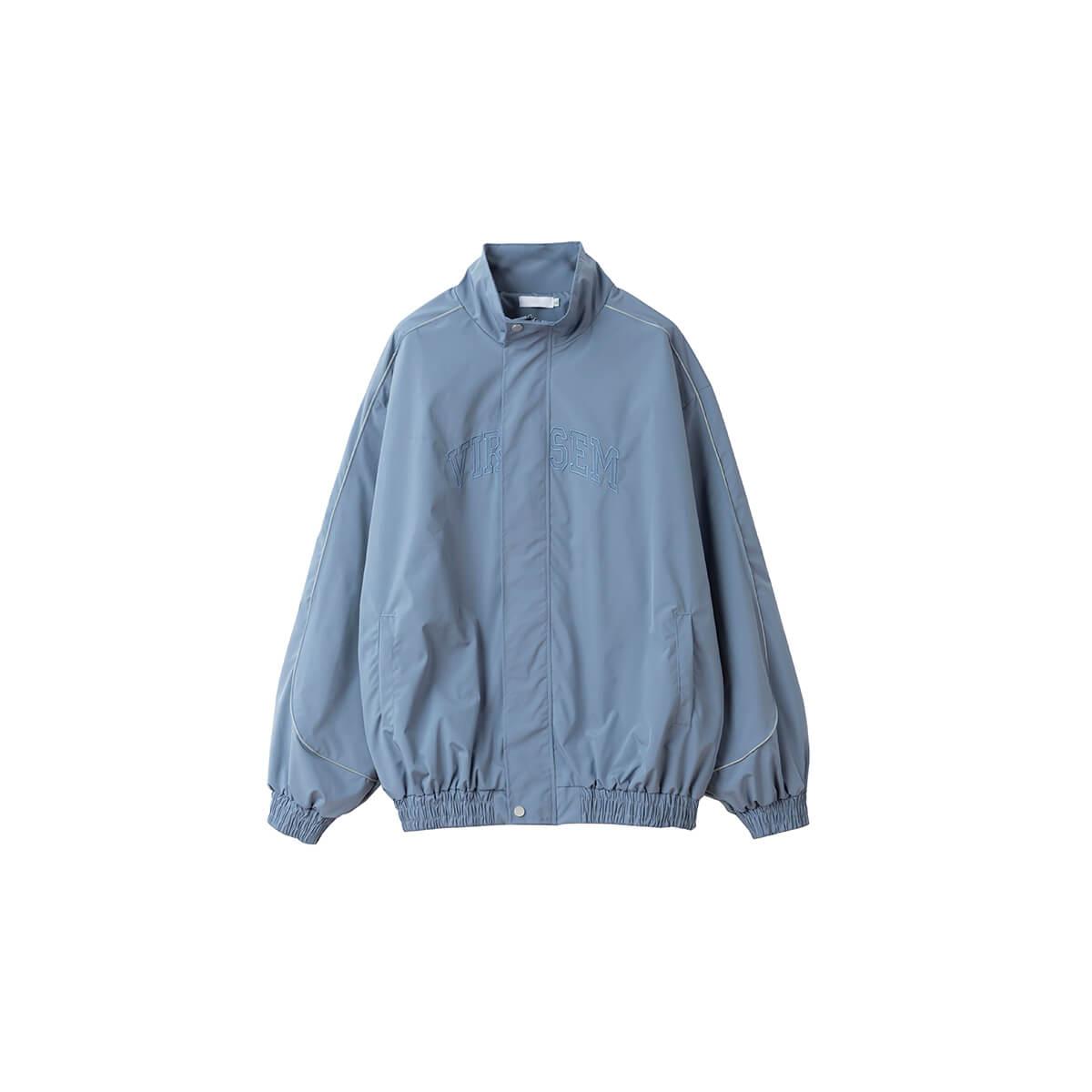 Куртка DL Studio Loose High Collar Windbreaker Blue