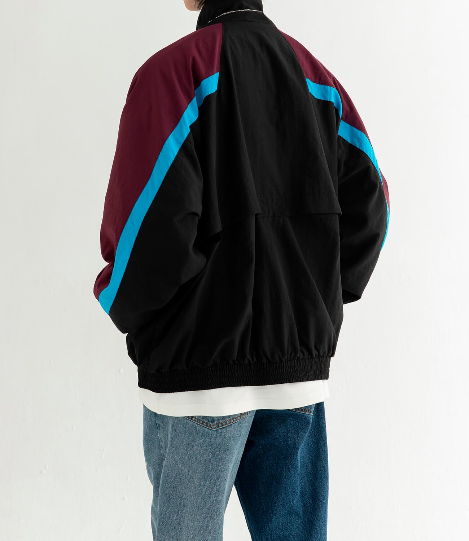 Куртка DL Studio Retro Style Windbreaker (6)