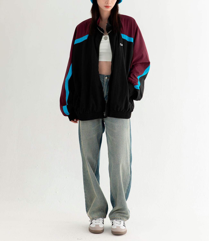 Куртка DL Studio Retro Style Windbreaker (8)