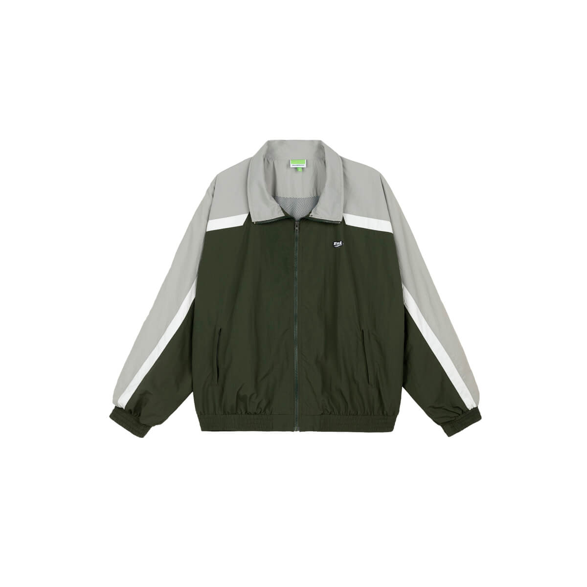 Куртка DL Studio Retro Style Windbreaker Army Green