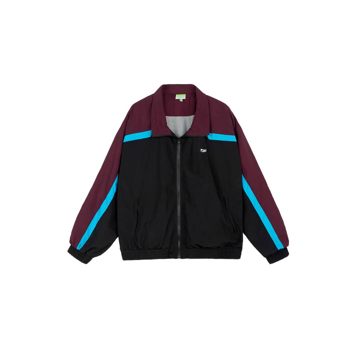 Куртка DL Studio Retro Style Windbreaker Black