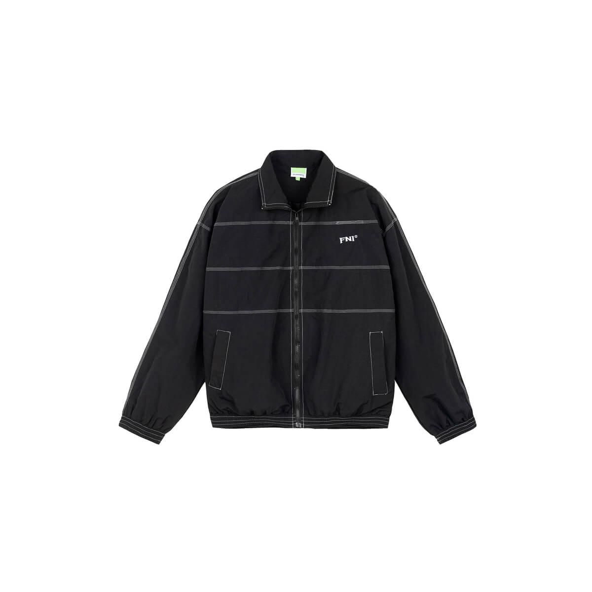 Куртка DL Studio Windbreaker Linear Design Black