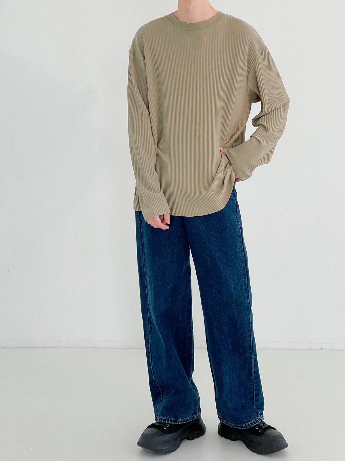 Лонгслив DAZO Studio Pleated Basic Long Sleeve (14)